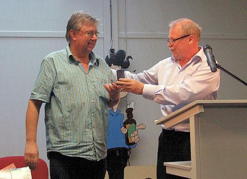 Hansje Joustra (l) en Kees Kousemaker (r)